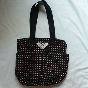 A poke a dot shoulder bag